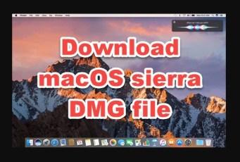 download macOS high sierra dmg file