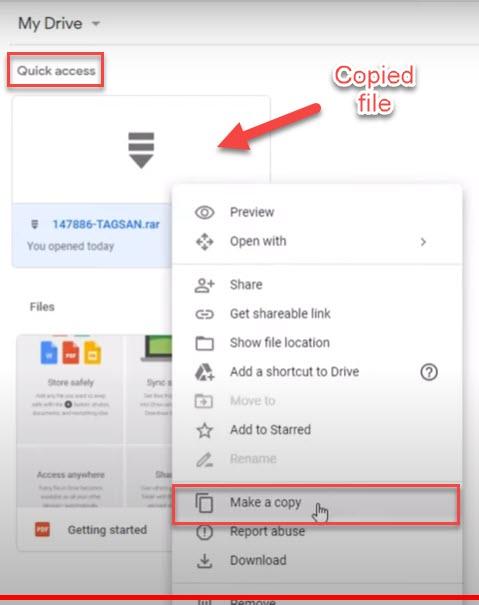 fix google drive download limit quota exceeded error