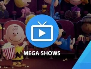 install mega shows app on pc