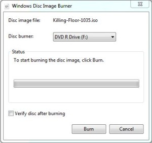 burn iso files in windows 7