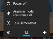 taking screenshots with xperia