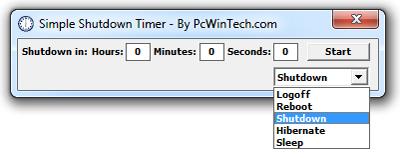 Simple-shutdown-timer