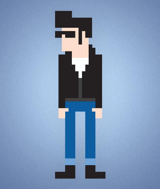 pixel-character