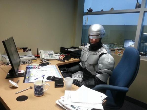 Robocop halloween costume