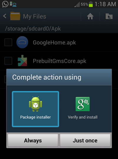 Download and Install the Android 4 4 KitKat Launcher on a