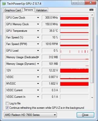 view-graphic-card-temperature-in-GPU-z