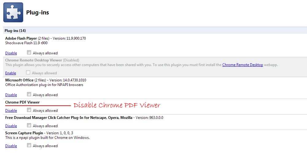 How To Prevent Google Chrome from Opening PDF Files