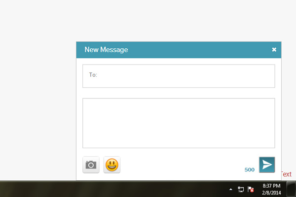Send and Receive Text Messages from an Android phone on a PC