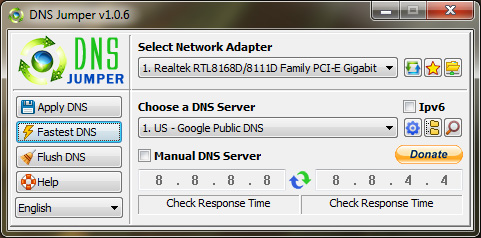 How to Find the Fastest DNS Server for your Internet Connection on
