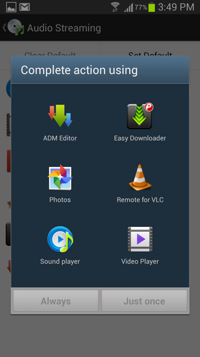 How to Change the Default Apps for various Tasks on Android