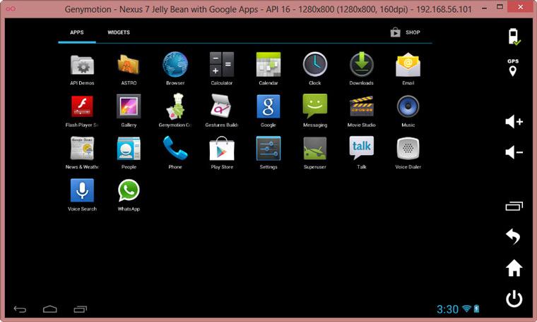 Android emulator windows 7