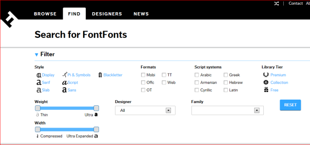 The Best Fonts For Blog Posts and Text on the Website