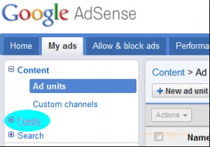 Google Adsense Ads in RSS Feed