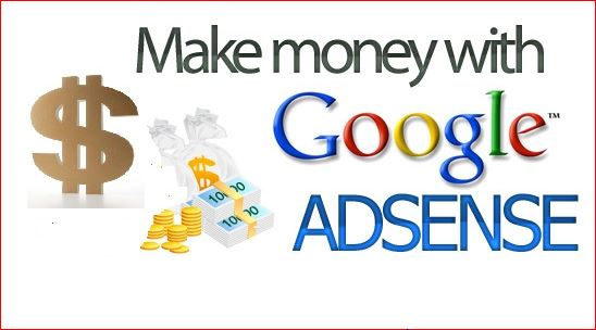 Google Adsense Account-Make Money with Google Adsense