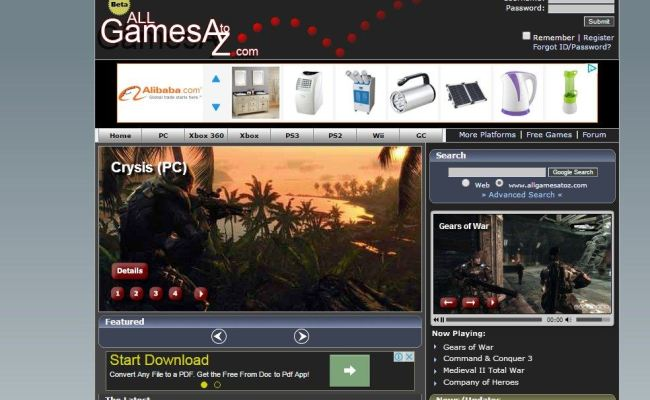 Top 10 Best Websites To Download Pc Games For Free 2016