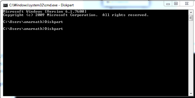 Using Command Prompt
