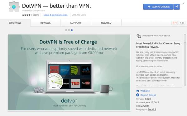 Dot VPN