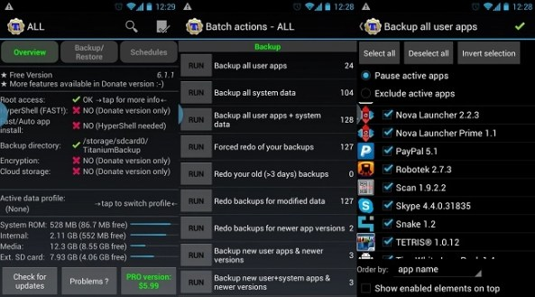 Take Complete Backup Of Your Android Data