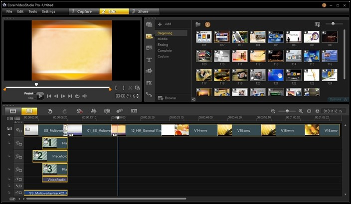 برنامج Corel Video Studio