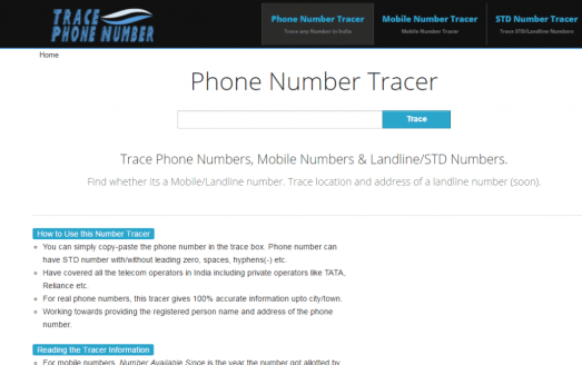— How To Trace Name Address Location Of Unknown Phone Number