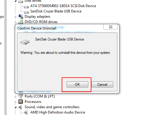 Reinstalling the Drivers