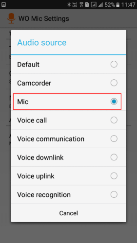 Use Your Android As Computer Microphone