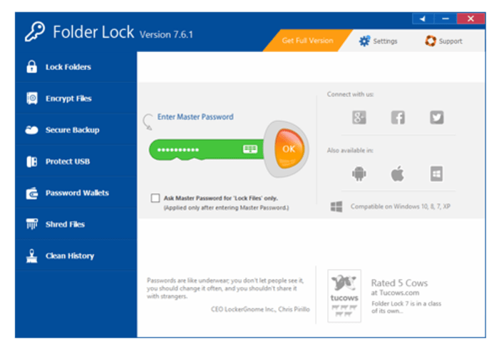 Kunci Folder