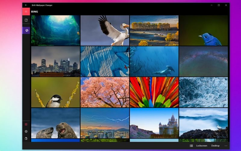 écran de verrouillage applications windows 10
