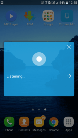 Use Microsoft's Cortana On Android