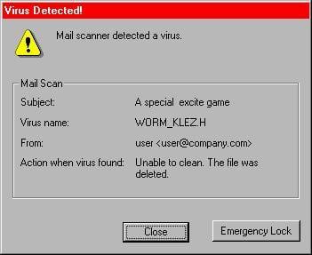 The Klez Virus