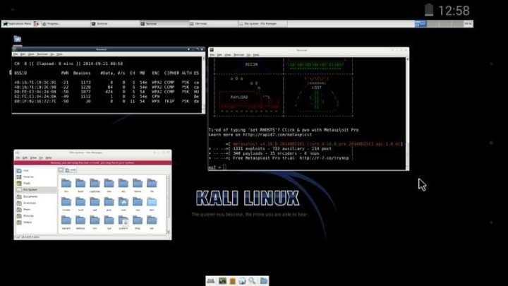 Kali Linux Hunter