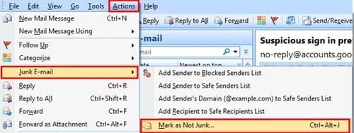Stop Legitimate Emails from being Flagged as Spam