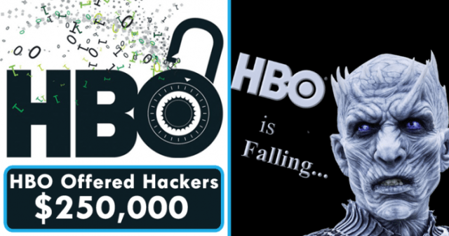 HBO Offered Hackers $250,000 As A 'Bug Bounty Reward'