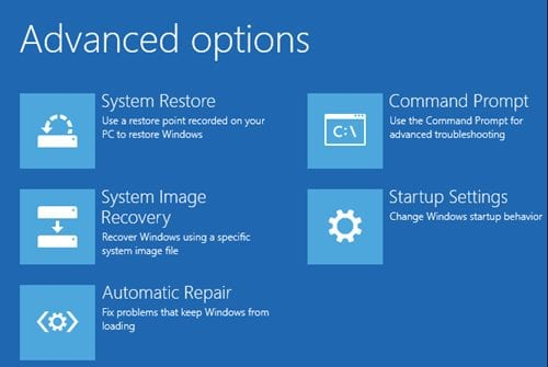 Fix-Windows 10-Automatic-Repair Loop