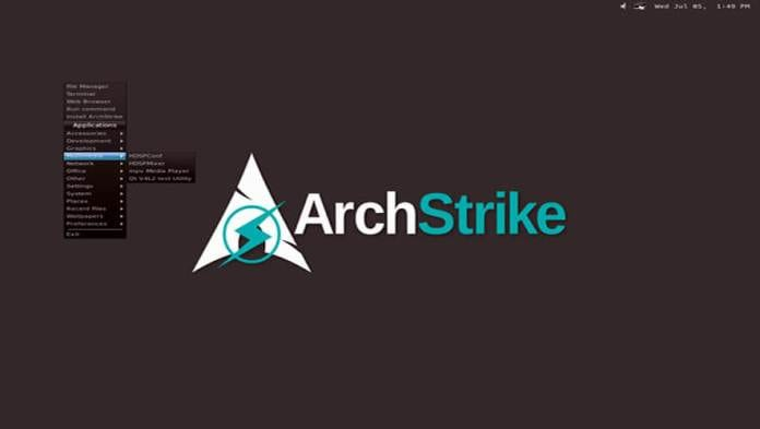 ArchStrike Linux