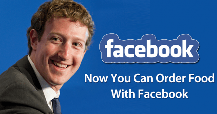"""Facebook Just Launched Its """"food Ordering Service"""" Sociojob"""