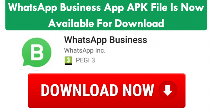 WhatsApp Business App APK File Is Now Available For