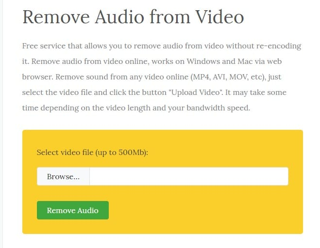 Audio Remover