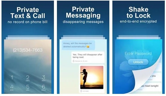 Private Text Messaging