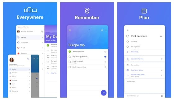 best to do list app android