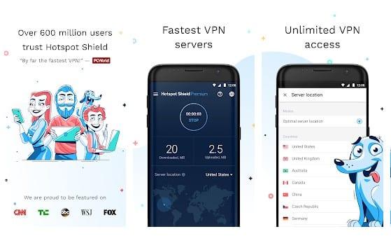 Hotspot Shield VPN & Proxy
