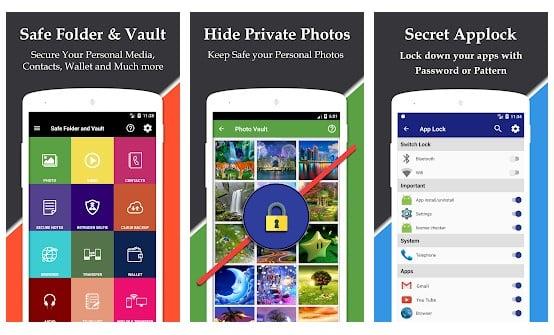 Safe Folder Vault App Lock