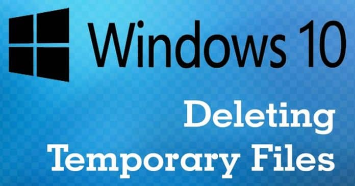 How To Delete Temporary Files In Windows 10 OS