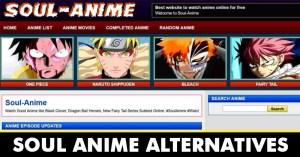 10 Best Soul Anime Alternatives in 2021 [Watch Anime Videos]
