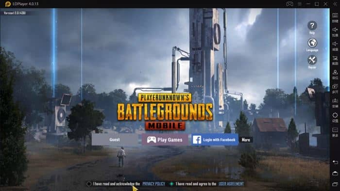 Play the PUBG Mobile Kr on LD Player