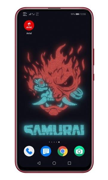 OnePlus 8T Cyberpunk 2077 live wallpapers