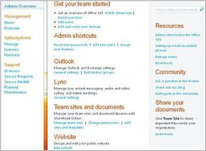 Manage Subscriptions, Functions, and Resources from Admin Home Page
