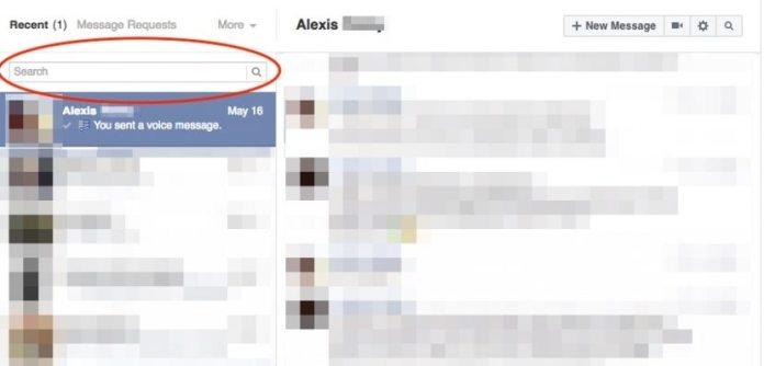 Message Searchbar