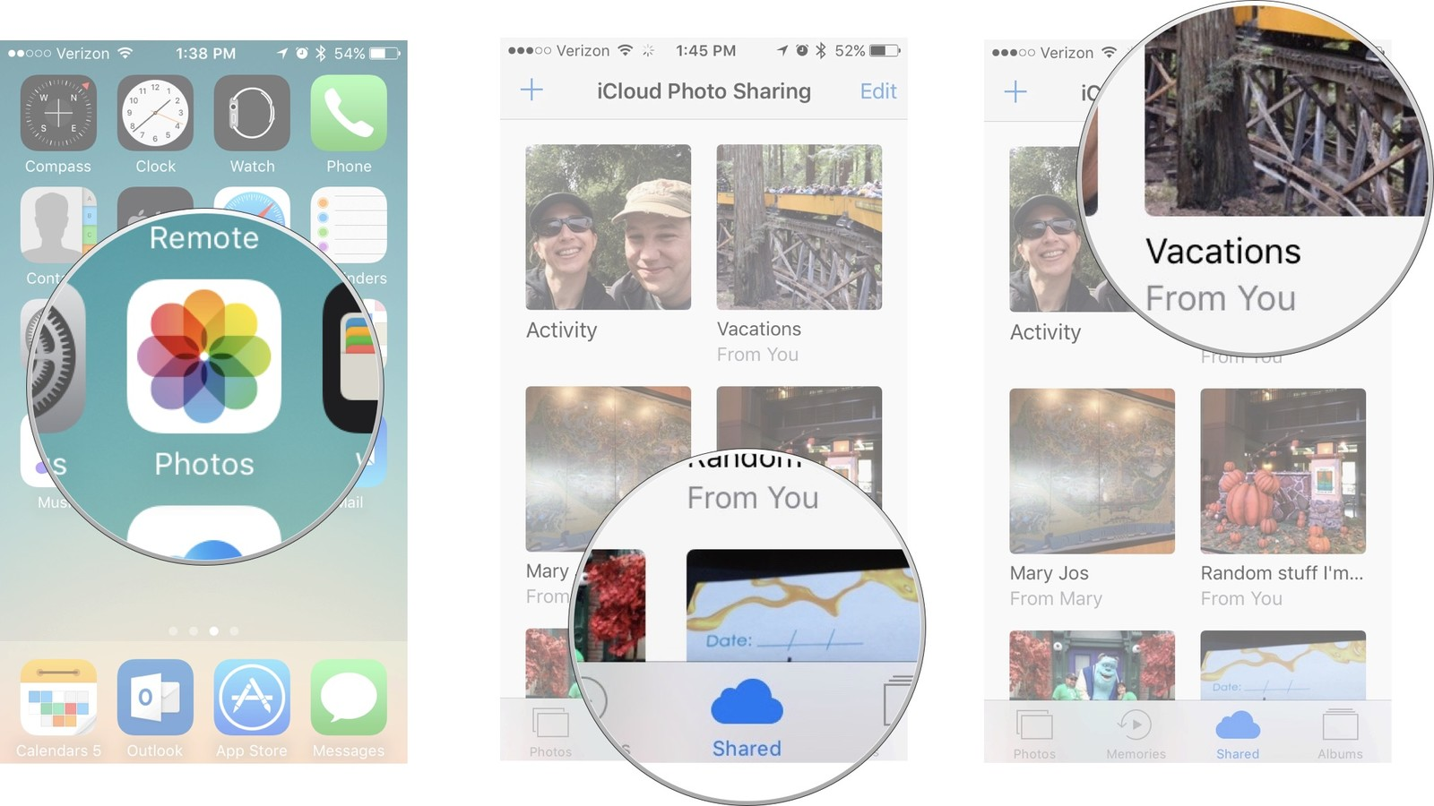 how to add old photos to icloud from iphone