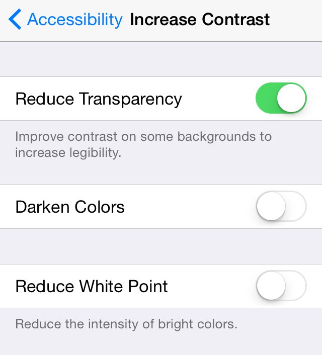 How to speed up a slow iPhone: Reduce transparency